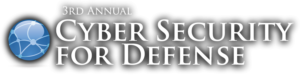 3rd annual cyber security for defense Logo