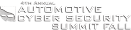 Annual Automotive Cyber Security Summit Logo